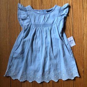 Baby Gap light denim dress